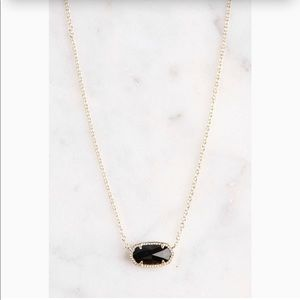 Black and Gold Elisa - Kendra Scott